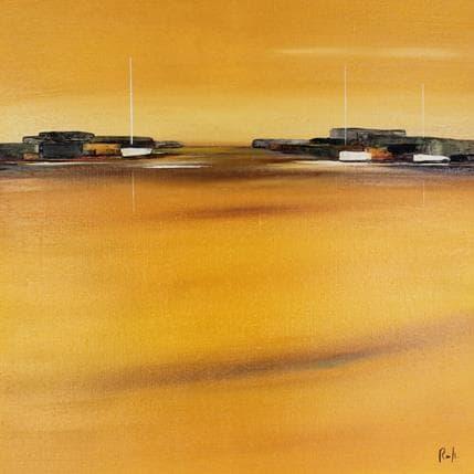 Marie-Ange et Fanny Roussel Horizon marin 50 x 50 cm