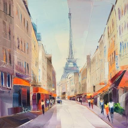 Anna Salenko Sans titre 50 x 50 cm