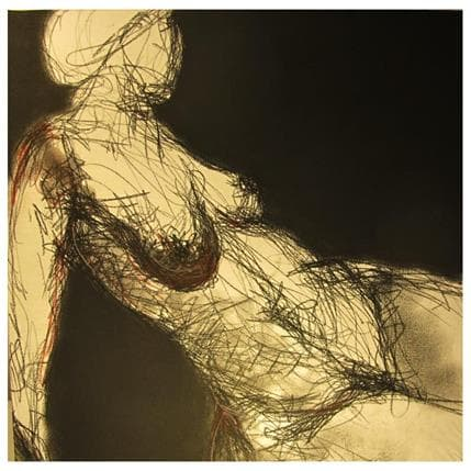 François Sahuc Claire 50 x 50 cm