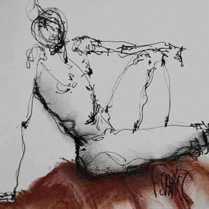 François Sahuc Edmond 13 x 13 cm