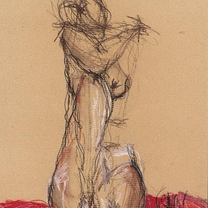 François Sahuc Colette 25 x 25 cm