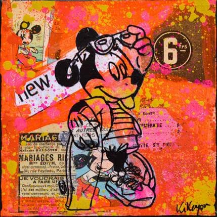 Kikayou Mickey skate 13 x 13 cm