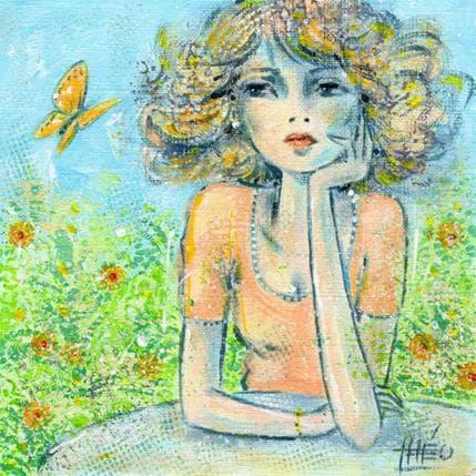 Théo The butterfly 13 x 13 cm