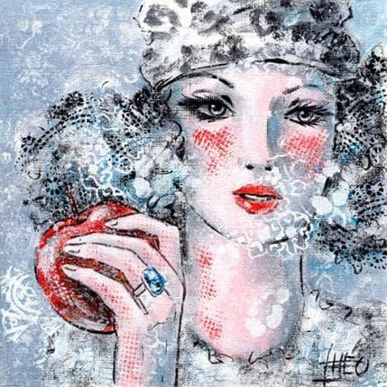 Théo Snow white 13 x 13 cm