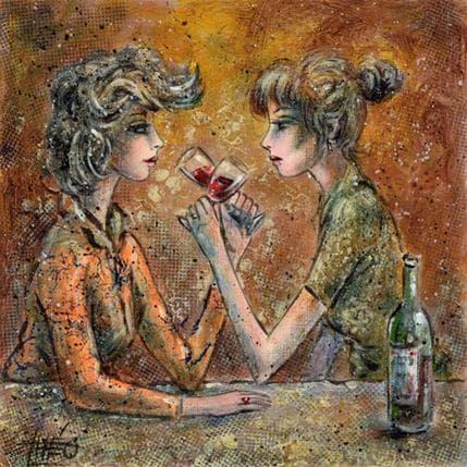 Théo Vin rouge 19 x 19 cm