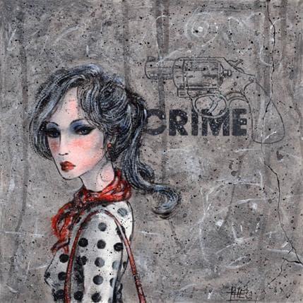 Théo Crime 25 x 25 cm