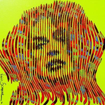 Virginie Schroeder La sensualité raffinée 25 x 25 cm