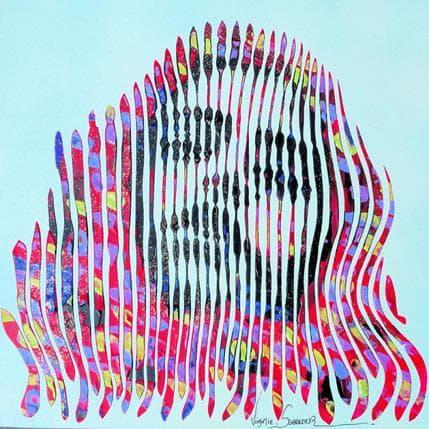 Virginie Schroeder Le temps d'un rêve 36 x 36 cm