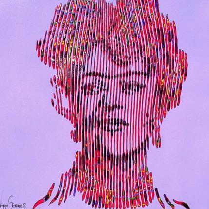 Virginie Schroeder Frida Khalo forever 36 x 36 cm