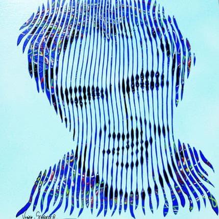 Virginie Schroeder Simplement Elvis 36 x 36 cm