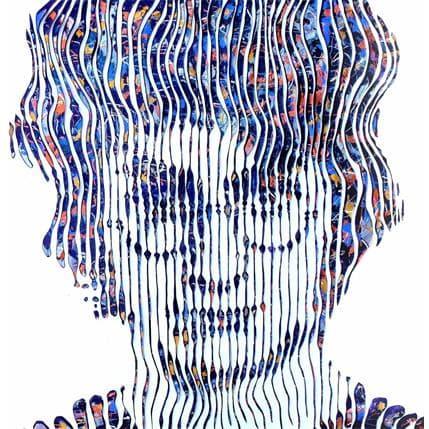 Virginie Schroeder Harry Potter héros aux milles visages 100 x 100 cm