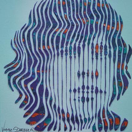 Virginie Schroeder La pensée de Luke Skywalker 19 x 19 cm