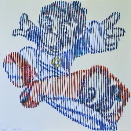 Virginie Schroeder Mario Bros l'intrépide 50 x 50 cm