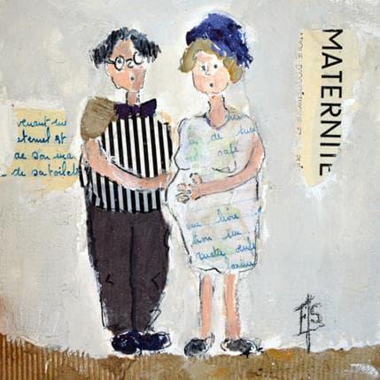 Françoise Soizeau Maternité 19 x 19 cm