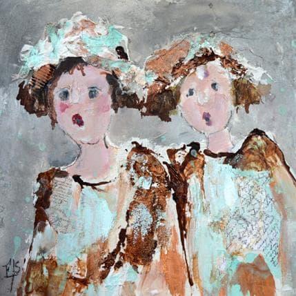 Françoise Soizeau Les chapeautées 25 x 25 cm