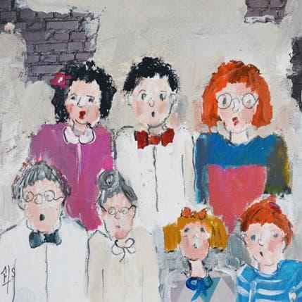 Françoise Soizeau Photo de famille 19 x 19 cm