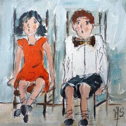 Françoise Soizeau Salle d'attente 13 x 13 cm