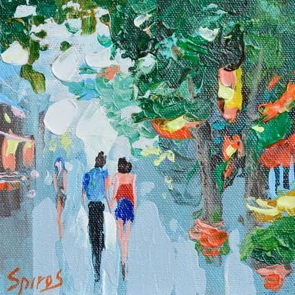 Dmitry Spiros Walk along the avenue 13 x 13 cm
