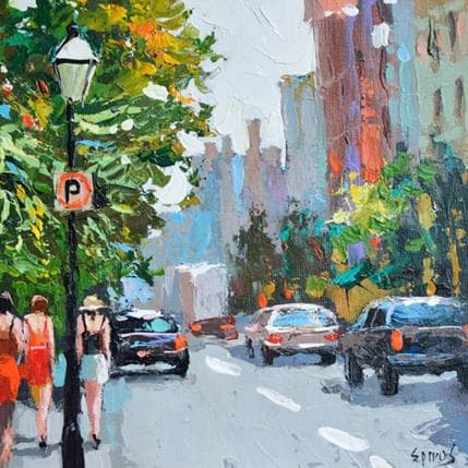 Dmitry Spiros City sketches 8 25 x 25 cm