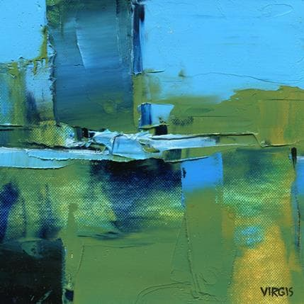 Virgis Surface of the lake 19 x 19 cm