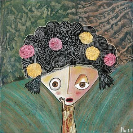Florence Thoirey Fourcade vous m´en direz tant 25 x 25 cm