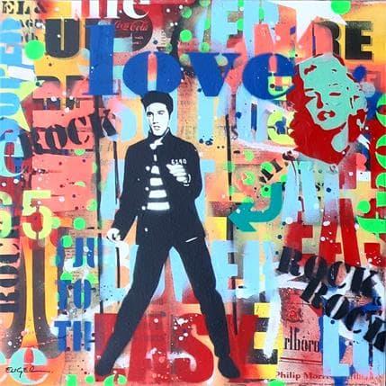 Philippe Euger Elvis 36 x 36 cm