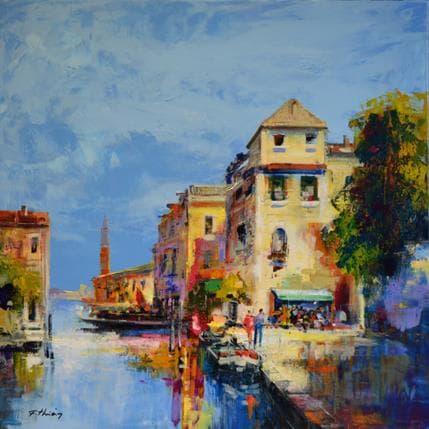 Frédéric Thiéry Venise 80 x 80 cm