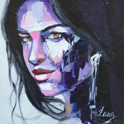 Svetlana Tikhonova Purple vibration 19 x 19 cm