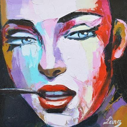Svetlana Tikhonova Something about poetry 19 x 19 cm