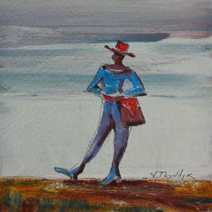 Vasily Tryndyk Red hat 13 x 13 cm