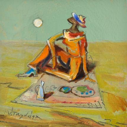 Vasily Tryndyk Picnic 13 x 13 cm