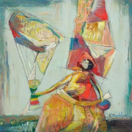 Vasily Tryndyk Parachute 25 x 25 cm