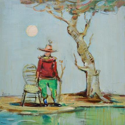 Vasily Tryndyk Old tree 36 x 36 cm