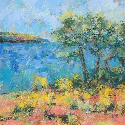 Catherine Vaudron Les trois pins 36 x 36 cm