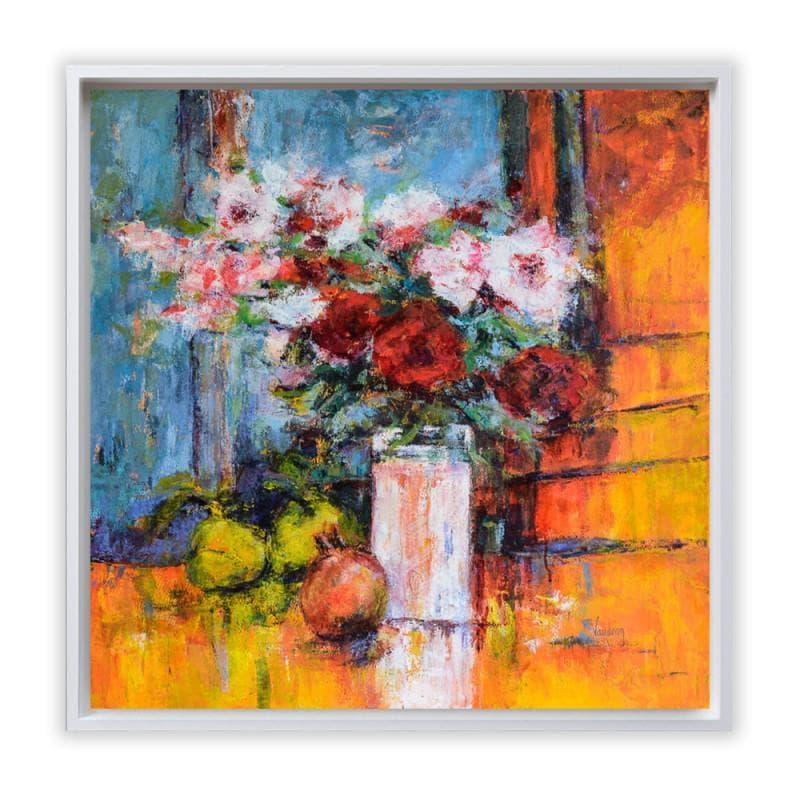 Roses et coings du jardin de Vasili