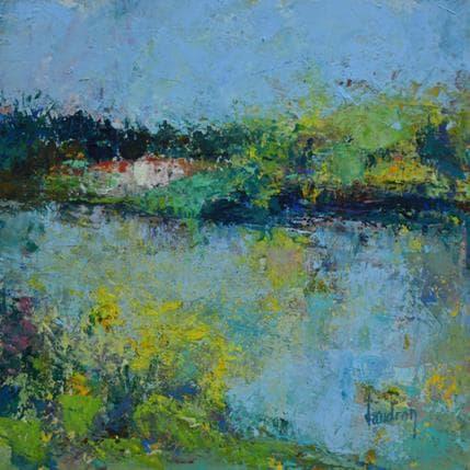 Catherine Vaudron Le moulin de Hauterive 19 x 19 cm