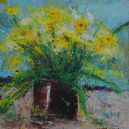 Catherine Vaudron Les jonquilles 25 x 25 cm
