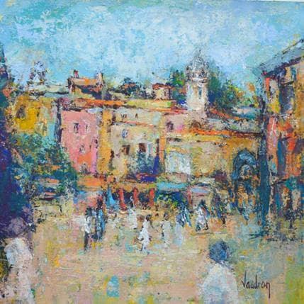 Catherine Vaudron Promenade en Provence 36 x 36 cm