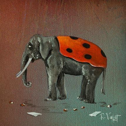 Lionel Valot Coccineléphant 13 x 13 cm