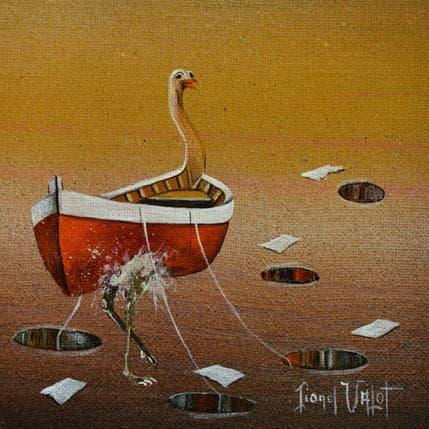 Lionel Valot Les trous dans le sable 13 x 13 cm