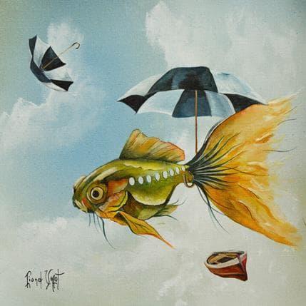 Lionel Valot Le bathyscaphe 25 x 25 cm