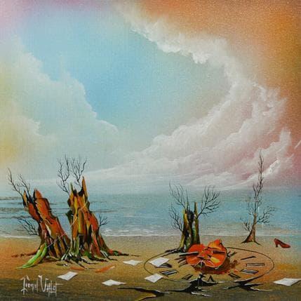 Lionel Valot Les dernières notes 36 x 36 cm