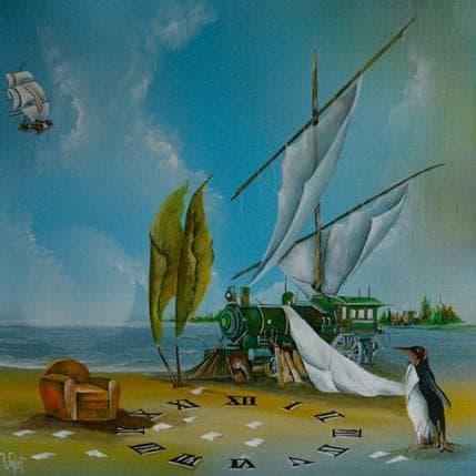 Lionel Valot Un voyage désorganisé 50 x 50 cm
