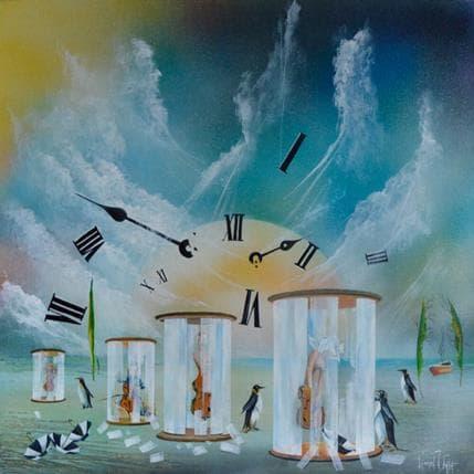 Lionel Valot Les mondes intérieurs 80 x 80 cm