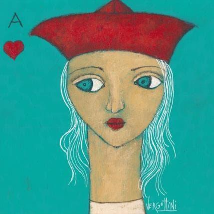 Paola Vergottini Mujer,viaje y amor 25 x 25 cm
