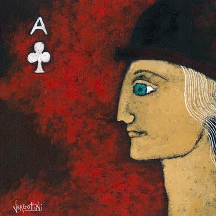Paola Vergottini Senor de la suerte 25 x 25 cm