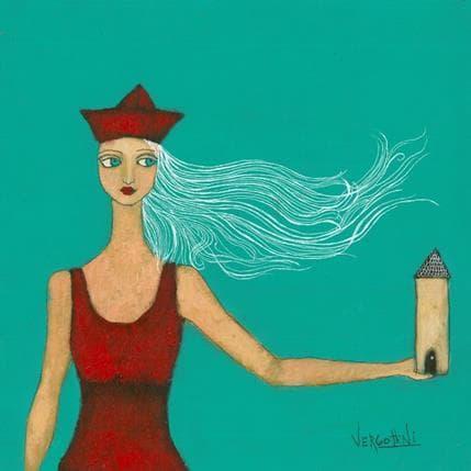 Paola Vergottini Diosa del hogar 36 x 36 cm