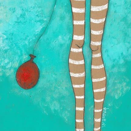Paola Vergottini Su globo 25 x 25 cm
