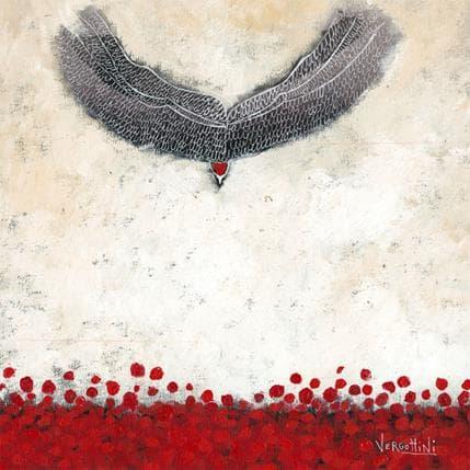 Paola Vergottini Vuelo a tierra 36 x 36 cm