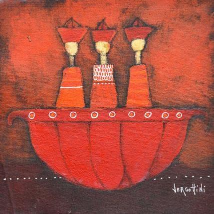 Paola Vergottini 3 viajeros 19 x 19 cm